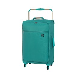 IT Luggage London Worlds Lightest Medium Viridian Green image here