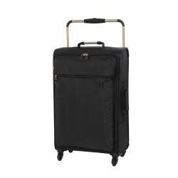 IT Luggage London Worlds Lightest Small Hand Carry Luggage Black image here