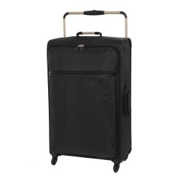 IT Luggage London Worlds Lightest Large Luggage Black image here