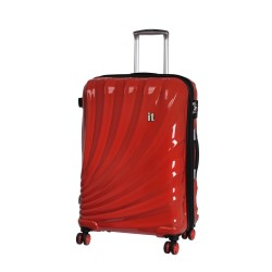 IT Luggage London Large Bolero Luggage with TSA Lock and Anti-Theft Zippers Grenadine image here
