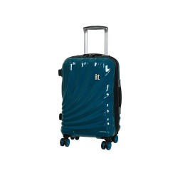 IT Luggage London Small Bolero Luggage with TSA Lock and Anti-Theft Zippers Turkish Tile image here