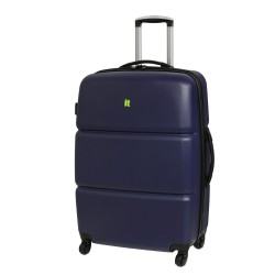 IT Luggage London Elliptik Blue Scratchproof Luggage Large image here