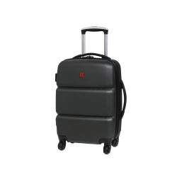 IT Luggage London Dark Gray Plum Scratchproof Luggage Small image here