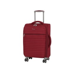 IT Luggage London Quilte Rio red Luggage with Expander Small image here