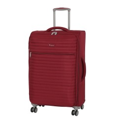 IT Luggage London Quilte Rio red Luggage with Expander Medium image here
