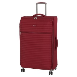 IT Luggage London Quilte Rio red Luggage with Expander Large image here