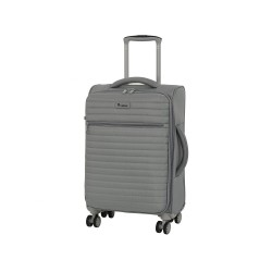 IT Luggage London Quilte Flint Gray Luggage with Expander Small image here