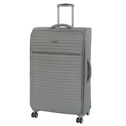 IT Luggage London Quilte Flint Gray Luggage with Expander Large image here