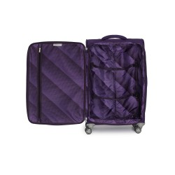 IT Luggage London Quilte Petunia Luggage with Expander Large image here