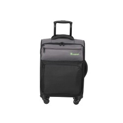 IT Luggage London Duotone Luggage with TSA Lock Small Pewter Black image here