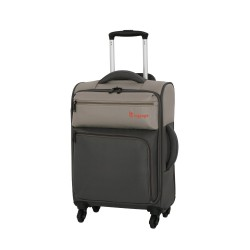 IT Luggage London Duotone Luggage with TSA Lock Small Atmosphere Gray image here
