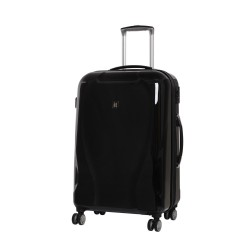 IT Luggage Corona TSA Lock 100% Polycarbonate Black Medium image here