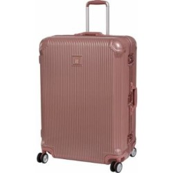 IT Luggage London Crusader ROSE GOLD Aluminum polycarbonate body clamp type Premium Hard Shell Large image here