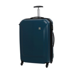 IT Luggage London Aerodynamic with carbolyte material Blue Medium image here