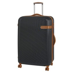 IT Luggage Valiant Luxury Luggage with TSA Lock Dark Shadow Medium image here