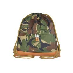 Myriad Basics II  Camouflage Drawstring bag image here