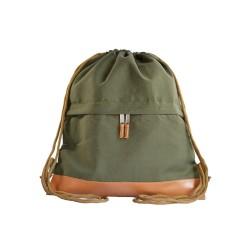 Myriad Basics II Green Drawstring bag image here