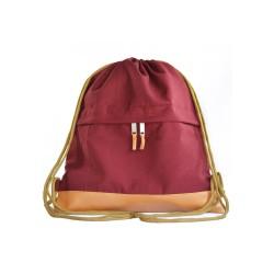 Myriad Basics II Maroon Drawstring bag image here