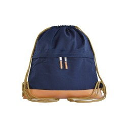 Myriad Basics II Navy Blue Drawstring bag image here