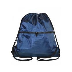 Myriad Basics Sapphire Blue  Water Resistant Drawstring bag image here