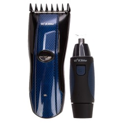 RECHARGEABLE HAIR CLIPPER & NOSE TRIMMER (PLUG & PLAY) image here