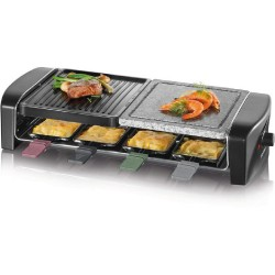Severin Raclette grill w/ natural stone image here