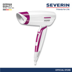 Severin Sports and Travel Hair Dyer HT 0152 white HT 0152 image here