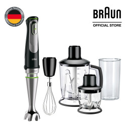Braun, MultiQuick 9 Hand blender, black, MQ 9045X image here