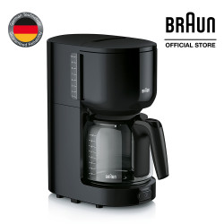 Braun, PurEase Coffee Maker, Black, KF 3120b  image here