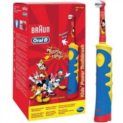 Braun Oral-B Stages Power Electric Toothbrush D10.513k,red image here