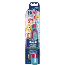 Braun Oral-b Stages Power Princess Cars Toothbrush DB 4510k princess,light blue image here