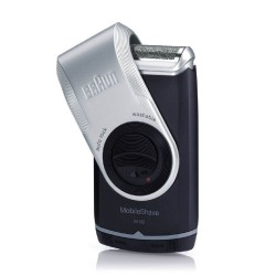 Braun MobileShave with Trimmer  M 90,silver image here