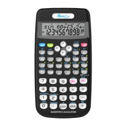 XYZLife, Scientific Calculator SR80, Black, 4713120935683 image here