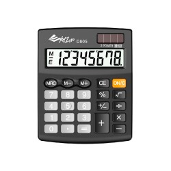 XYZLife, Desktop Calculator D805, Black, 4713120937137 image here