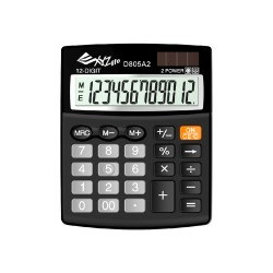 XYZLife, Desktop Calculator D805A2, Black, 4713120937656 image here