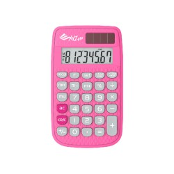 XYZLife, Handheld Calculator 880, Pink, 4713120935652 image here