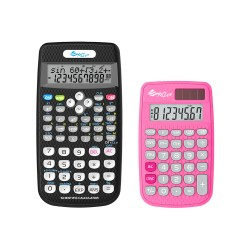 XYZLife, Scientific Calculator SR80 and Handheld Calculator 880, Pink, 4713120935683935652 image here