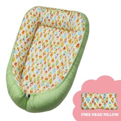 Babycuddle Bed Ice Cream in Green image here