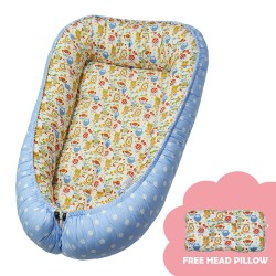 Babycuddle Bed Little Owl Blue image here