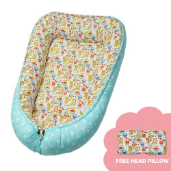 Babycuddle Bed Little Owl in Green,BB LITTLE OWL IN GREEN image here