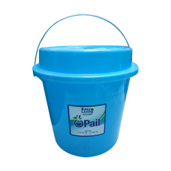 Easy Living, Pail With Cover 16L, Blue, EL-001PCB image here