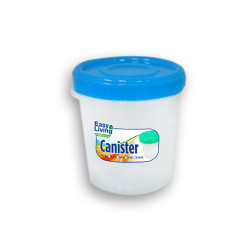 Easy Living, Canister With Spoon Small 600ml, Blue, EL-003B image here