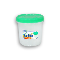 Easy Living, Canister With Spoon Small 600ml, Green, EL-003G image here