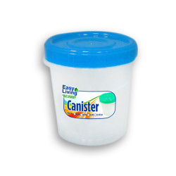Easy Living, Canister With Spoon Medium 1100ml, Blue , EL-004B image here