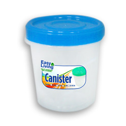 Easy Living, Canister With Spoon Large 1700ml, Blue, EL-005B image here