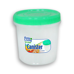 Easy Living, Canister With Spoon Large 1700ml, Green, EL-005G image here