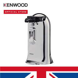 Kenwood 3-in-1 can opener with knife sharpener and bottle opener silver  CO606 image here