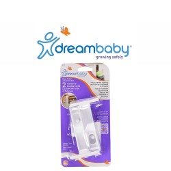 Dreambaby Adhesive Double Locks 2 Pack,F147 image here