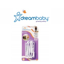 Dreambaby Cabinet Safety Catches Pack of 6,F101 image here