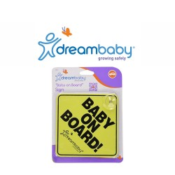 Dreambaby Baby On Board Sign,F211 image here